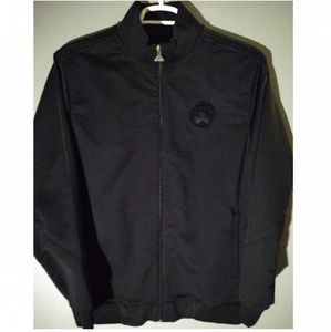 Adidas blacked out Boston Celtics warm-up jacket